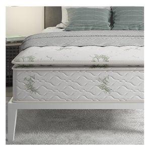 亚马逊选项上最佳床垫:签名睡眠13混合卷床垫,女王,白色