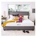 亚马逊最佳床垫选择:日出床上用品10英寸天然乳胶混合皇后床垫