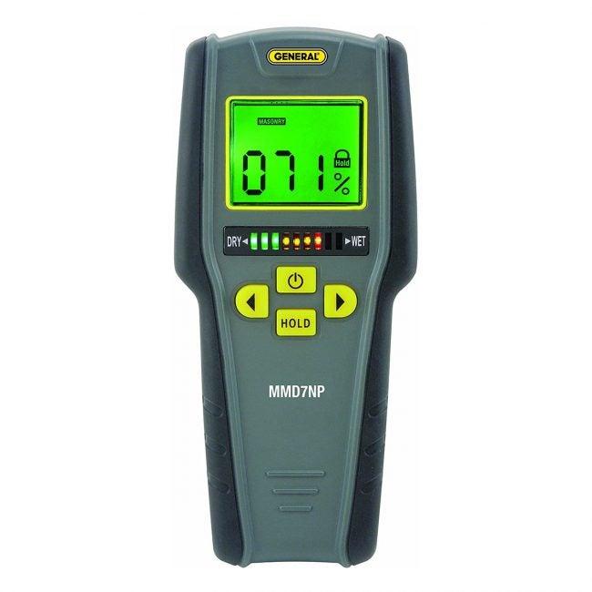 Best Moisture Meters Options: General Tools MMD7NP Pinless