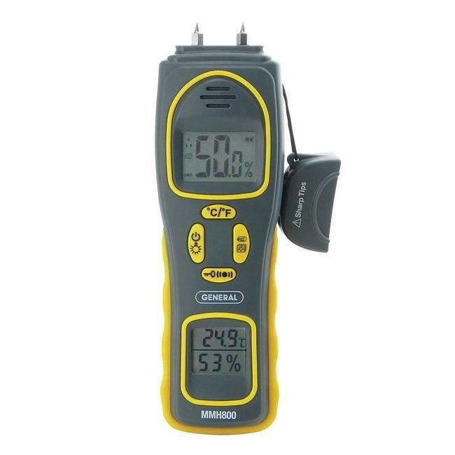 Best Moisture Meters Options: General Tools MMH800 4-In-1 Combo Moisture Meter