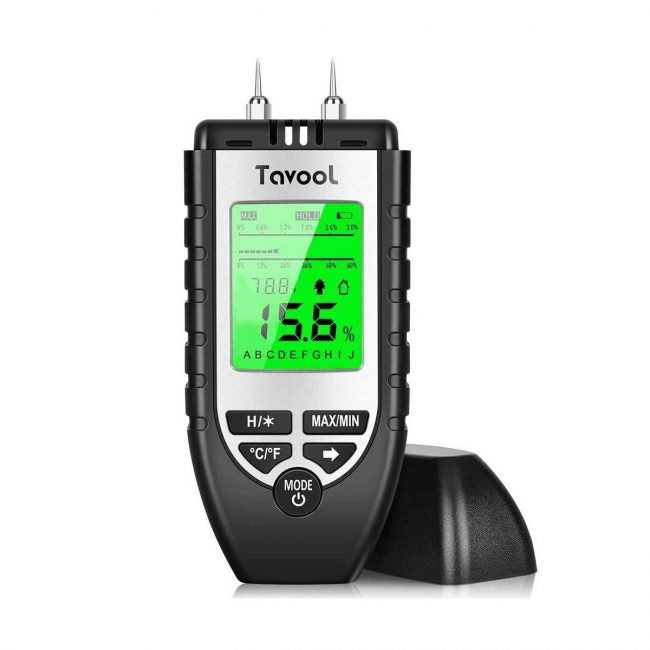 Best Moisture Meters Options: Wood Moisture Meter - Digital Moisture Detector