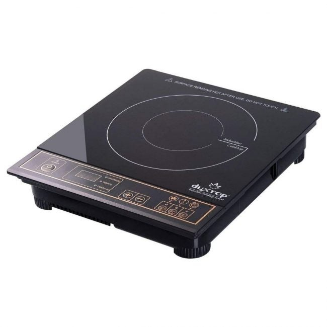 The Best Portable Induction Cooktop Option: Duxtop 1800W Portable Induction Cooktop