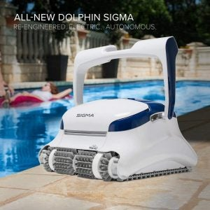 The Best Robotic Pool Cleaners Option: Dolphin E10 Automatic Robotic Pool Cleaner