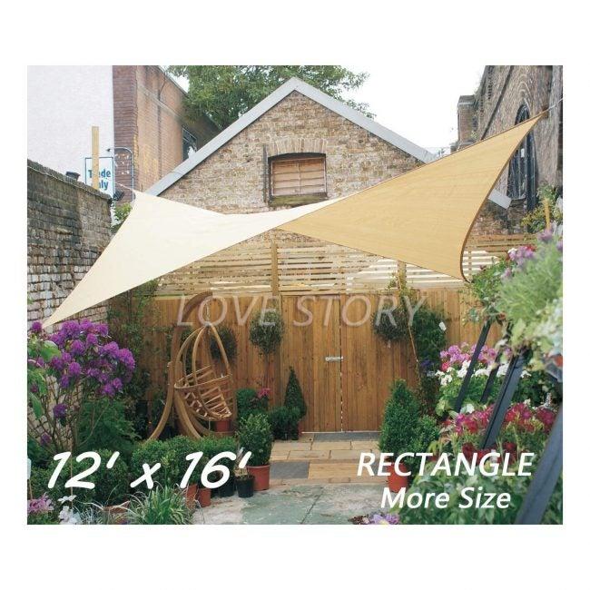 Best Shade Sail LoveStory Rectangle