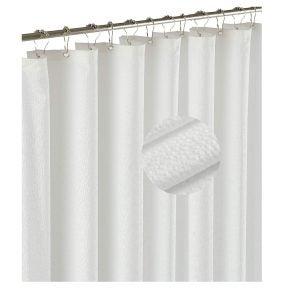 Best Shower Curtain Liners Options: Barossa Design Soft Light-Weight Microfiber Fabric Shower Liner