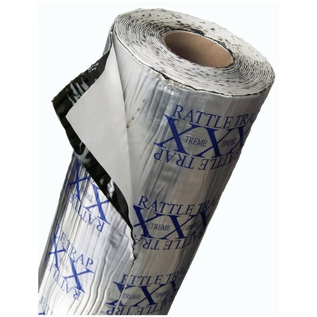 The Best Soundproofing Material Option: FatMat Self-Adhesive Rattletrap Sound Deadener