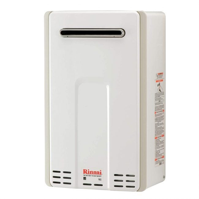 Best Tankless Gas Water Heater Options: Rinnai V65eN Tankless Hot Water Heater
