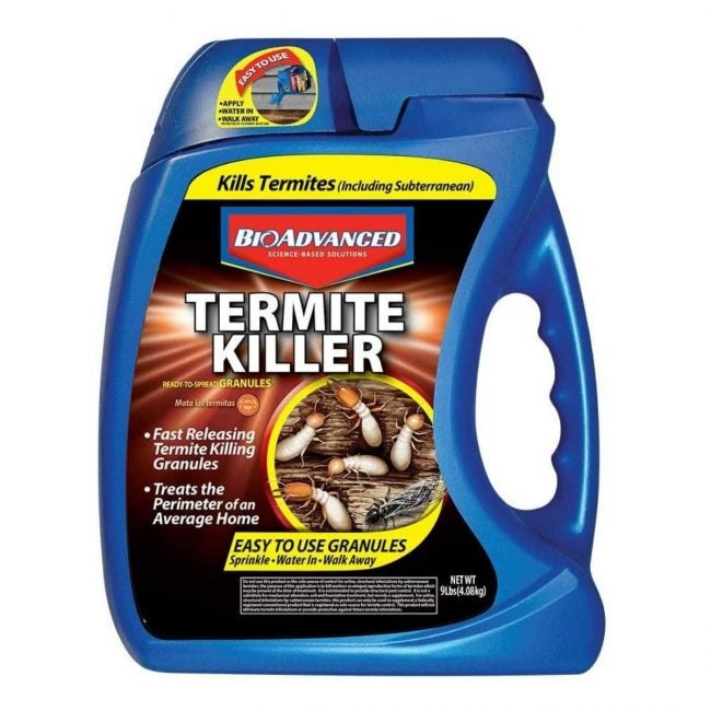 The Best Termite Treament Option: BioAdvanced 700350A Termite Killer