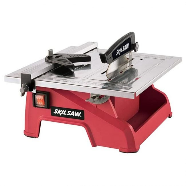 The Best Tile Saw Option: SKIL 3540-02 7-Inch Wet Tile Saw