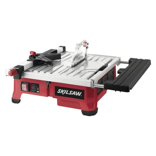 The Best Tile Saw Option: SKIL 3550-02 7-Inch Wet Tile Saw