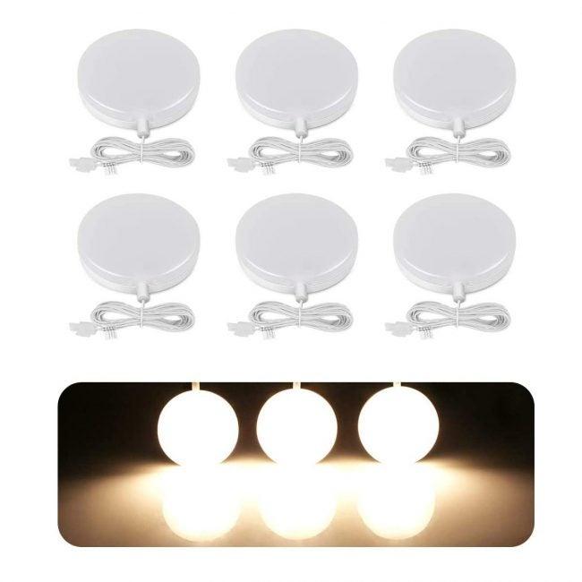 Best Under Cabinet Lighting Options: LE LED Under Cabinet Lighting Fixtures