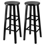 The Best Wooden Stool Option: Winsome 29-Inch Square Leg Bar Stool