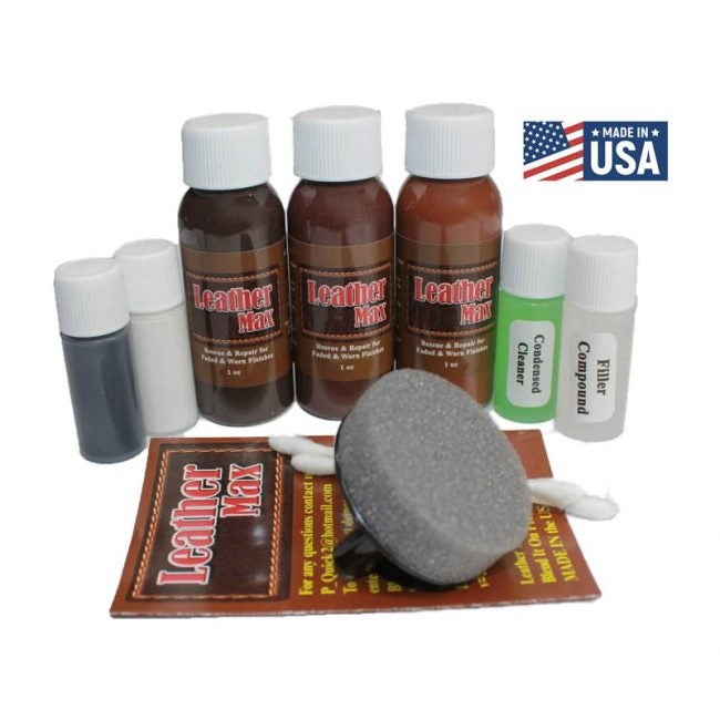 The Best Leather Repair Kit Option: BlendItOn Leather Max Complete Leather Refinish