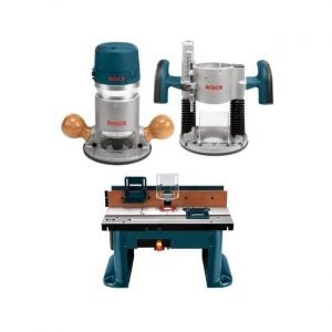 The Best Wood Router Option: Bosch 1617EVSPK Wood Router Tool Combo Kit