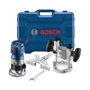The Best Wood Router Option: Bosch GKF125CEPK Colt 1.25 HP Palm Router Kit