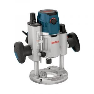 The Best Wood Router Option: Bosch MRP23EVS 2.3 HP Plunge Base Router