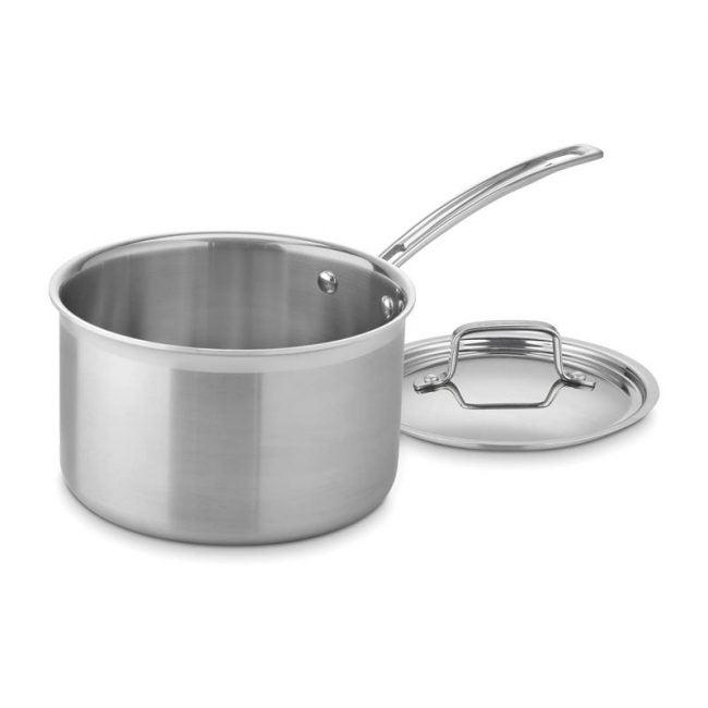 The Best Saucepan Option: Cuisinart Multiclad Stainless Steel Saucepan
