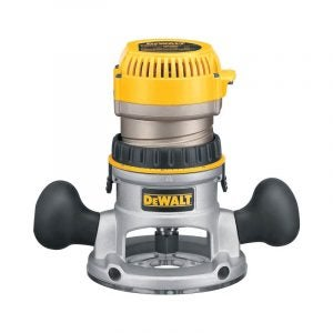 The Best Wood Router Option: DEWALT Router, Fixed Base, 1-3/4-HP (DW616)