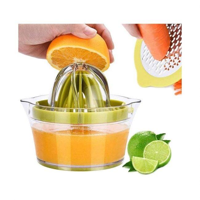 The Best Manual Juicer Option: Drizom Citrus Lemon Orange Manual Hand Squeezer