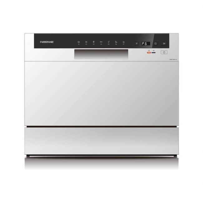 The Best Dishwasher option: Farberware FCD06ABBWHA Portable Countertop Dishwasher