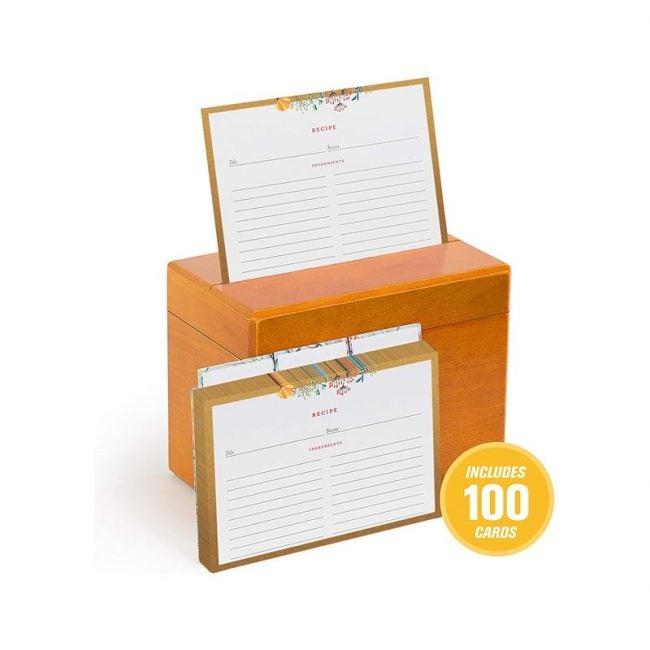The Best Recipe Organizer Option: Fresh & Lucky Recipe Box