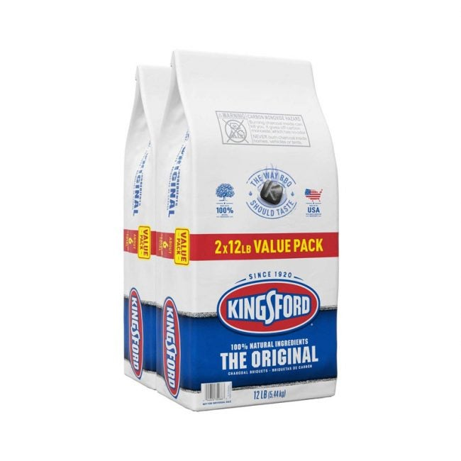 The Best Charcoal Option: Kingsford Original Charcoal Briquettes