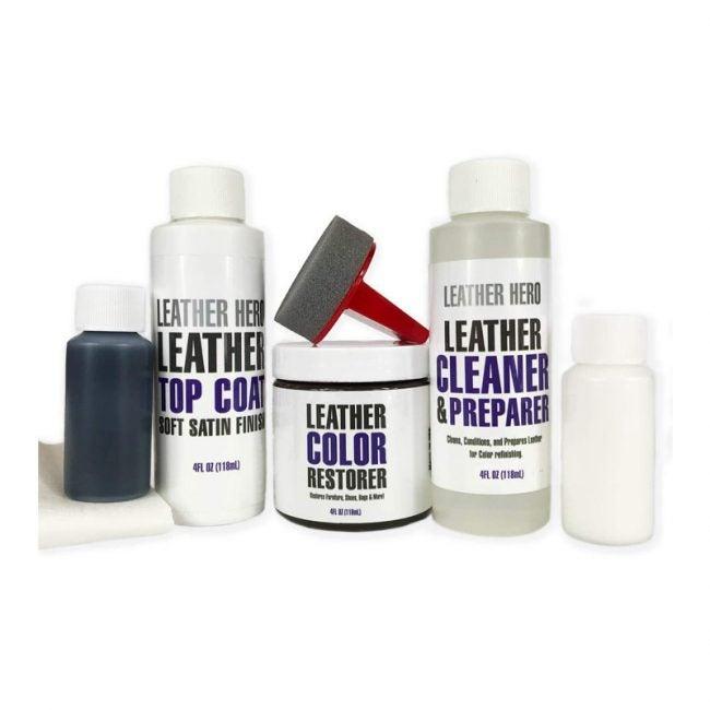 The Best Leather Repair Kit Option: Leather Hero Color Restorer Complete Repair Kit