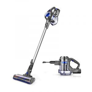 The Best Cordless Vacuums for Pet Hair Option: MOOSOO Cordless Vacuum 4 in 1 Powerful Suction Stick