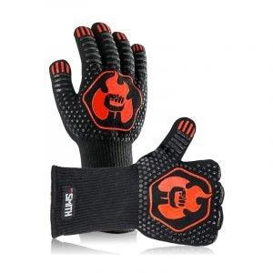 The Best BBQ Glove Option: Mr. Smith BBQ Grill Gloves