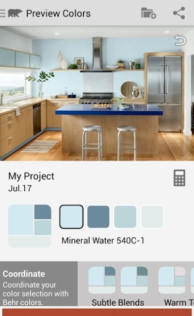The Paint Color App Option: ColorSmart by Behr
