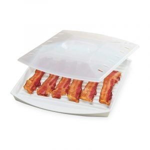 The Best Bacon Cooker Option: PrepSolutions Microwavable Bacon Grill