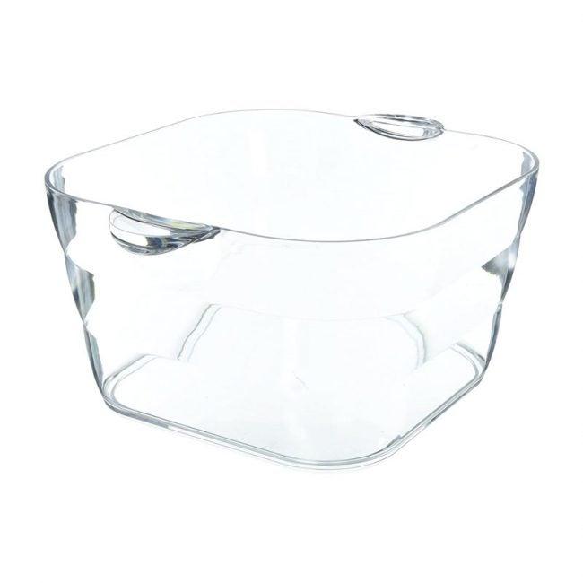 The Best Beverage Tub Option: Prodyne Big Square Party Beverage Tub