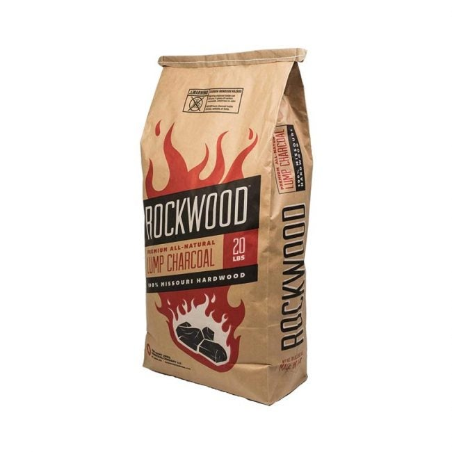 The Best Charcoal Option: Rockwood All-Natural Hardwood Lump Charcoal
