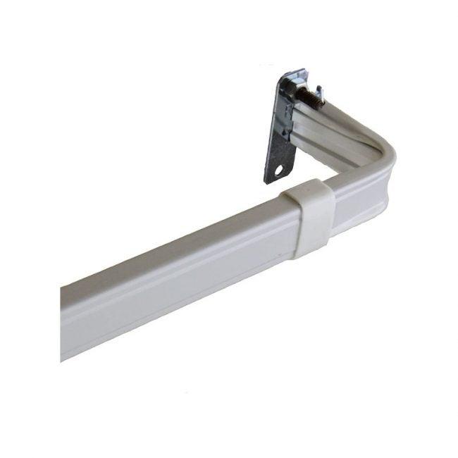 The Best Curtain Rods Option: Rod Desyne Lockseam 2-Inch Window Curtain Rod Set