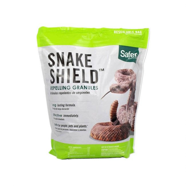 The Best Snake Repellent Option: Safer Brand 5951 Snake Shield