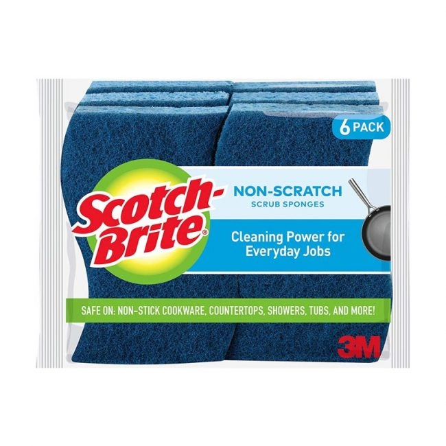 The Best Dish Scrubber Option: Scotch-Brite Non-Scratch Scrub Sponges