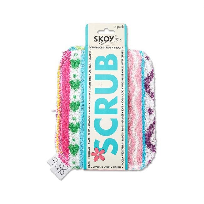 The Best Dish Scrubber Option: Skoy Scrub (2 Pack)