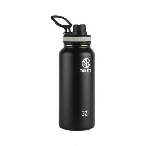 The Best Reusable Water Bottle Option: Takeya Black Originals Vacuum-Insulated Water Bottle