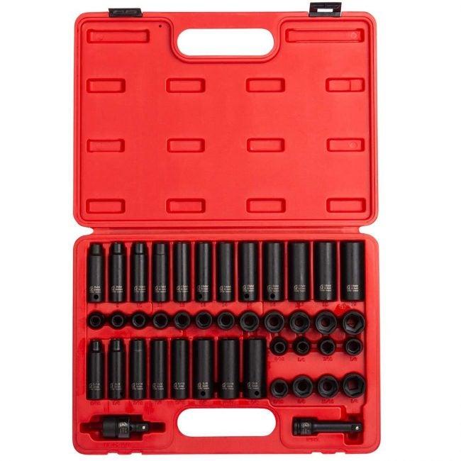 Best Socket Set Options: Sunex 3342, Inch Drive Master Impact Socket Set