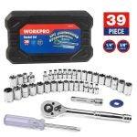 Best Socket Set Options: WORKPRO Socket Set