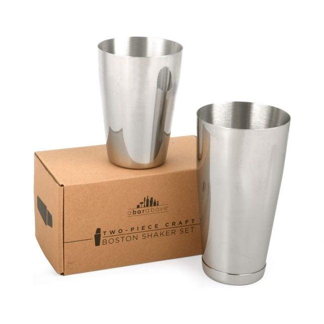 The Best Cocktail Shaker Option: Top Shelf Bar Supply Premium Cocktail Shaker Set