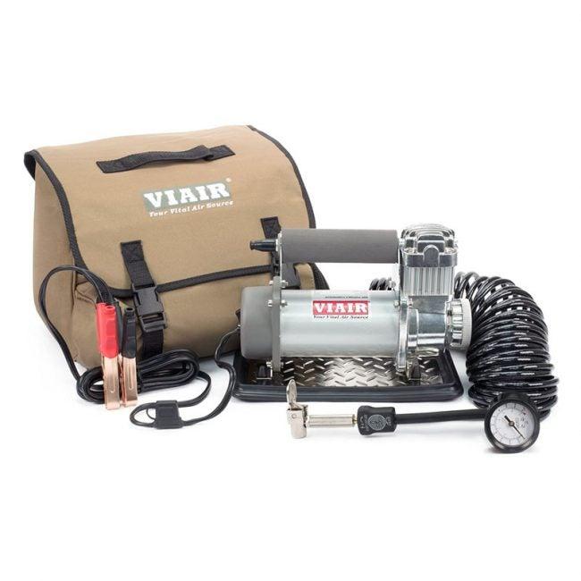 The Best Tire Inflator Option: VIAIR 400P Portable Compressor