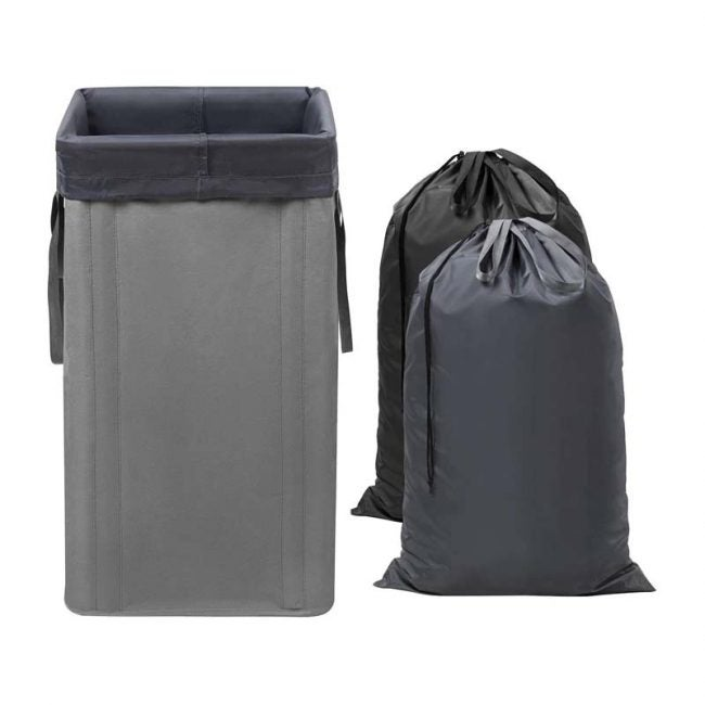 The Best Laundry Hamper Option: WOWLIVE Large Collapsible Laundry Hamper