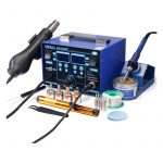 The Best Soldering Station Option: YIHUA 862BD+SMD ESD Safe 2 in 1 Soldering Station