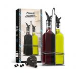 The Best Oil Dispenser Option: Zeppoli Oil and Vinegar Dispenser Set