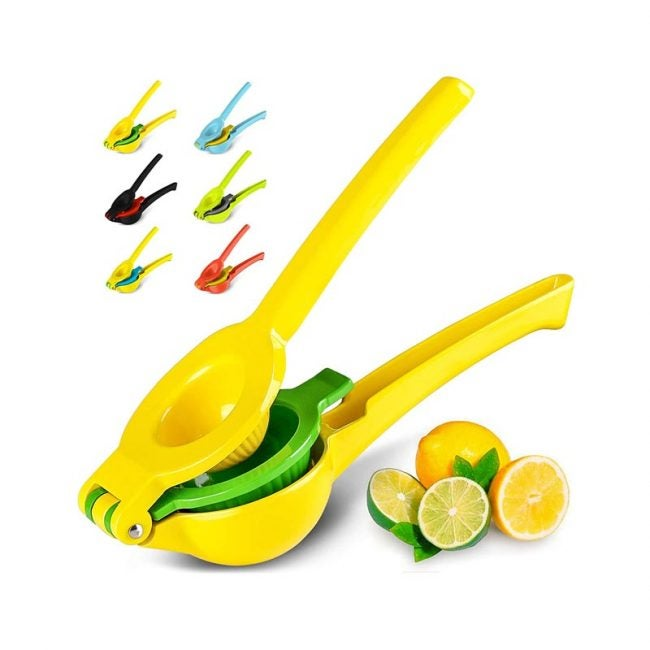 The Best Manual Juicer Option: Zulay Kitchen Manual Citrus Press Juicer