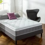 Best Hybrid Mattresses Options: Zinus 12 Inch Support Plus Pocket Spring Hybrid Mattress with Euro Top