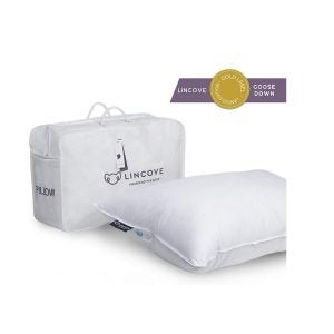 Best Bed Pillows Options: Lincove White Down Luxury Sleeping Pillow
