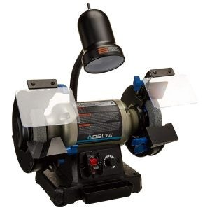 The Best Bench Grinder Option: Delta Power Tools 23-196 6-Inch Variable Speed Bench Grinder