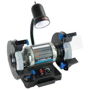 The Best Bench Grinder Option: Delta Power Tools 23-197 8-Inch Bench Grinder